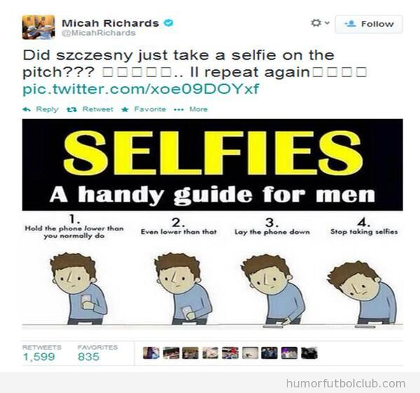 Viñeta graciosa para dejar de hacer selfies