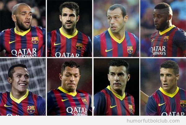 Jugadores del Barça en venta