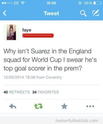 Tweets graciosos de chicas sin idea de fútbol