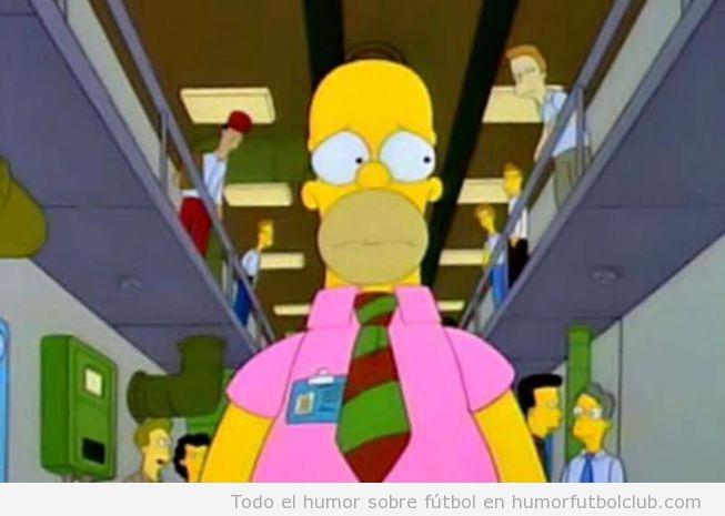 Homer Simpson, Segunda equipación Real Madrid color rosa