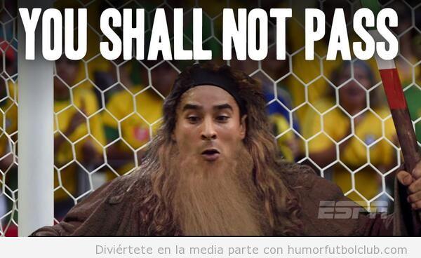 Memes graciosos portero de MExico ante Brasil, Mundial Brasil 2014 - 6