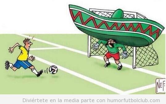 Memes graciosos portero de MExico ante Brasil, Mundial Brasil 2014 2