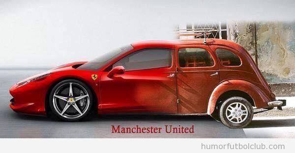 Coche Manchester United