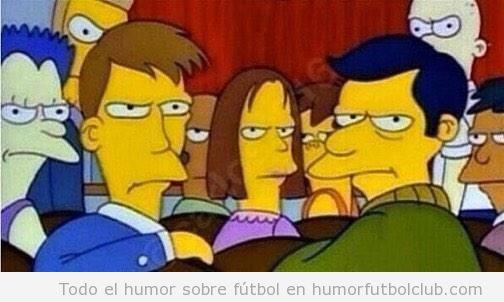 Humor Real Madrid - Barça versión The Simpsons