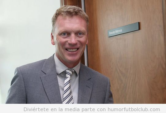 Foto graciosa David Moyes en Real Sociedad