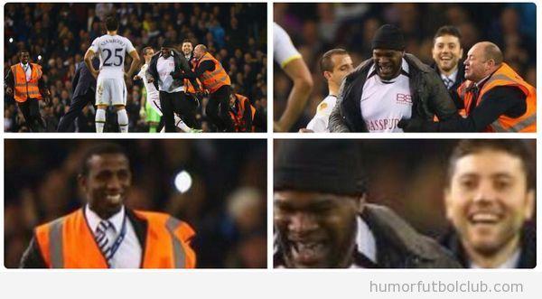 Espontáneo en el  en Tottenham vs  Partizan Belgrado