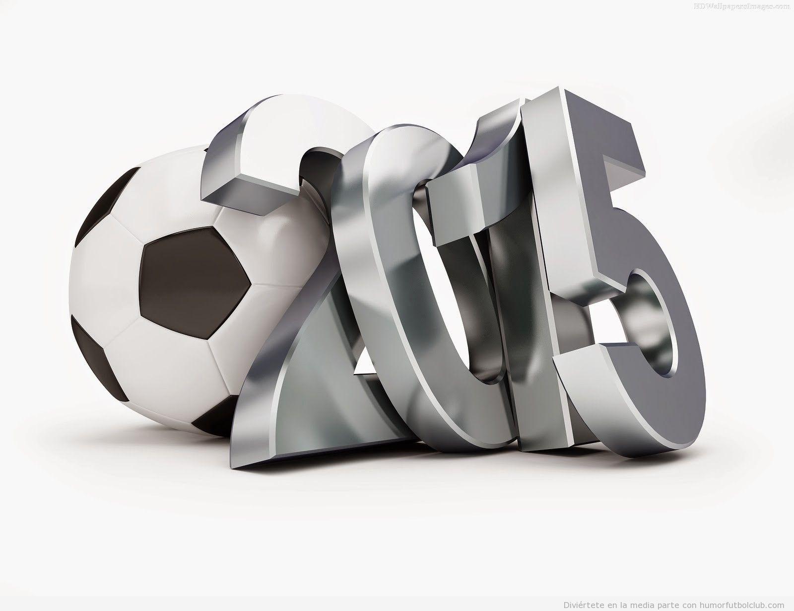 Feliz año 2015 fútbol