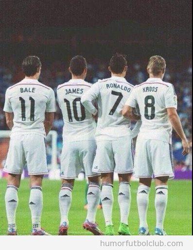 Foto barrerra mas cara del mundo Real Madrid