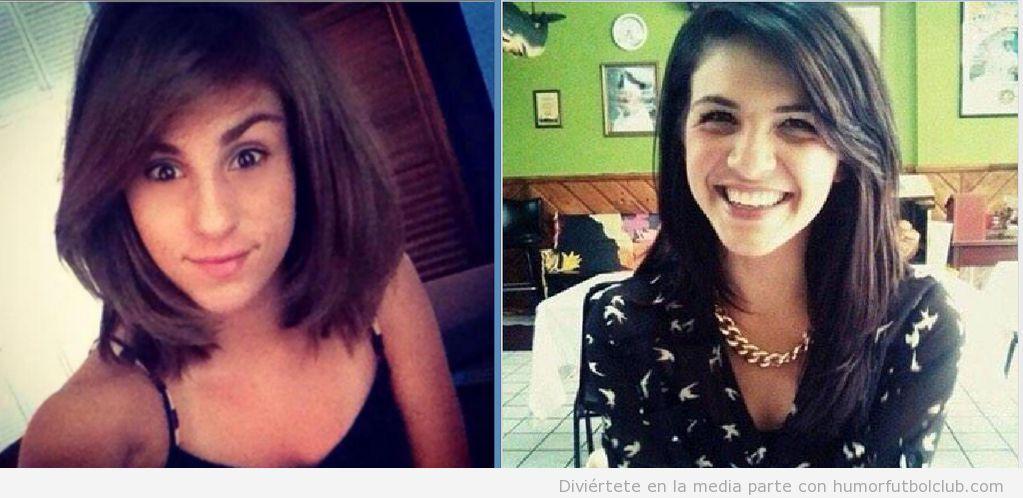 Foto chicas parecido razonable con Ramsey y Alexis Sánchez