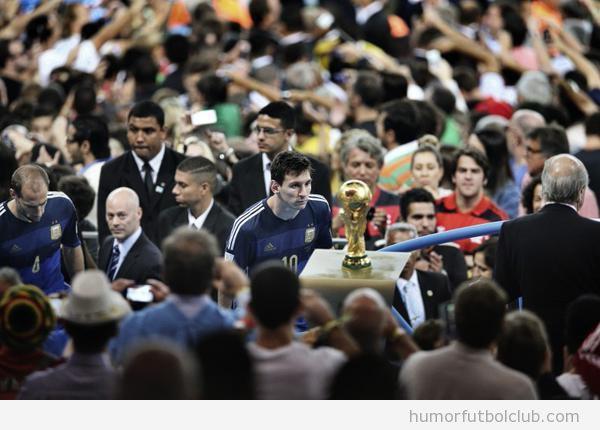 Mejor foto deportes World Press Photo 2014: Messi Final Mundial 2014