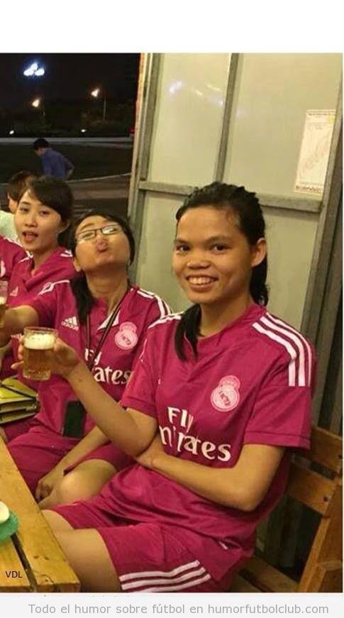 Foto graciosa niña parecido razonable Pepe Real Madrid
