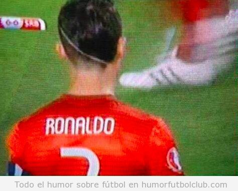 Nuevo corte pelo Cristiano Ronaldo 2