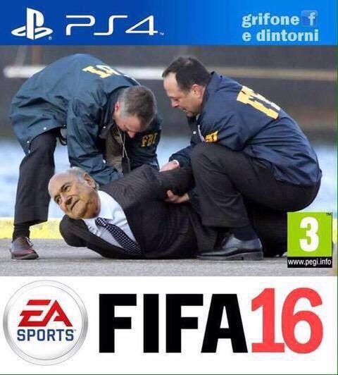 Portada graciosa FIFA 16 detenido