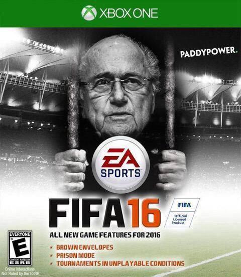Portada graciosa FIFA 16 cárcel