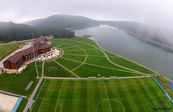 Campo fútbol de pretemporada del Fenerbahce