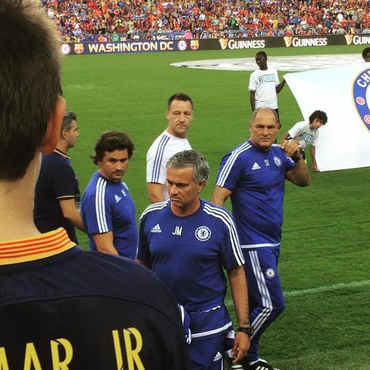 Foto de Mourinho un poco gordo