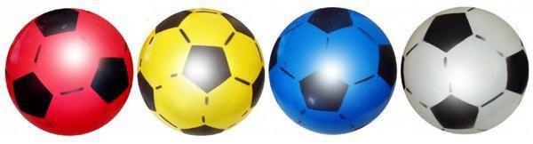 Balones plástico para jugar al fútbol