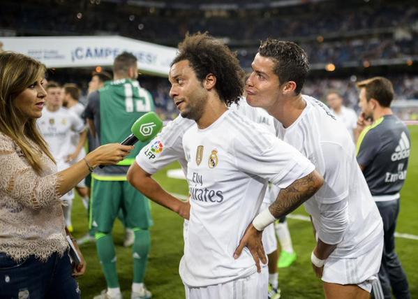 Cristiano Ronaldo trollea a Marcelo en una entrevista para La Sexta