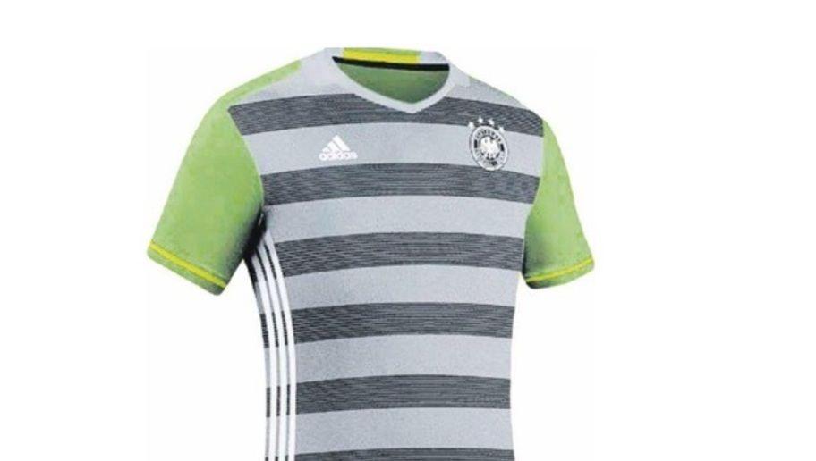Segunda equipación Alemania 2016