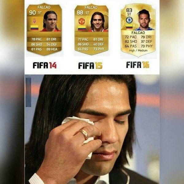 Cambio de Falcao en FIFA 16