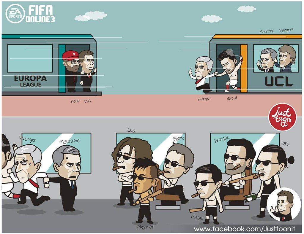 Viñeta Champions League 2015
