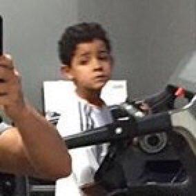 Fotos graciosas de Cristiano Ronaldo con su hijo 4