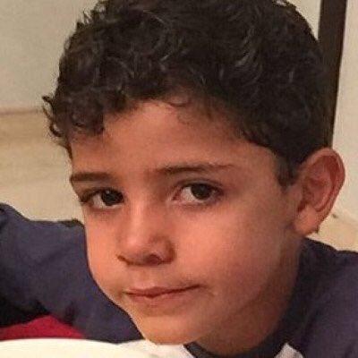 Fotos graciosas de Cristiano Ronaldo con su hijo 3