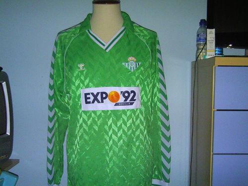 Camiseta antigua Betis Expo 92