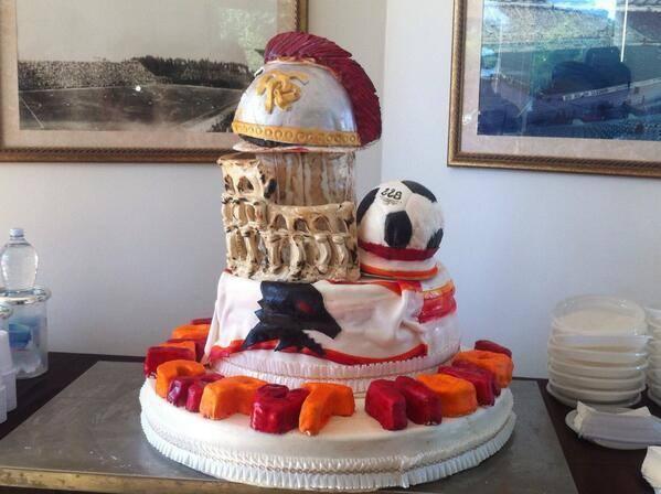 Pastel cumpleaños Francesco Totti