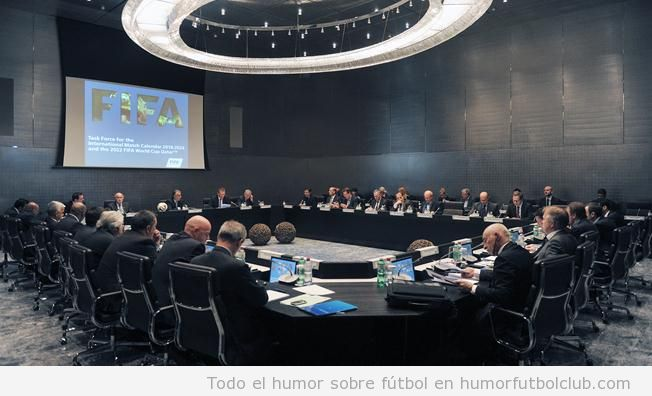 Sala reuniones sede FIFA