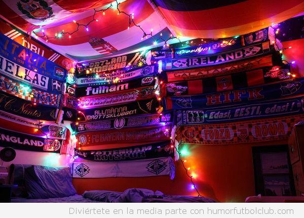 Mejores colecciones bufandas fútbol 8
