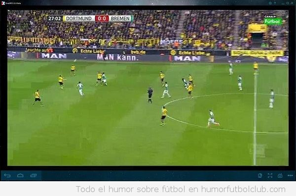 Ver fútbol en Wiseplay