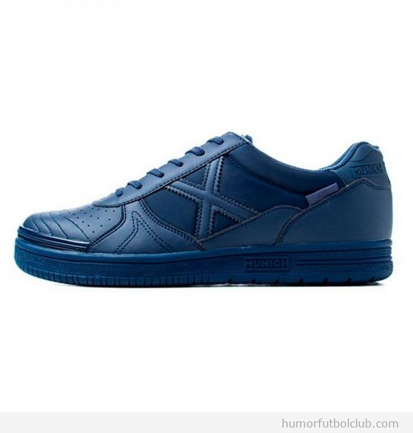 Zapatillas Munich G-3 azules monochrome
